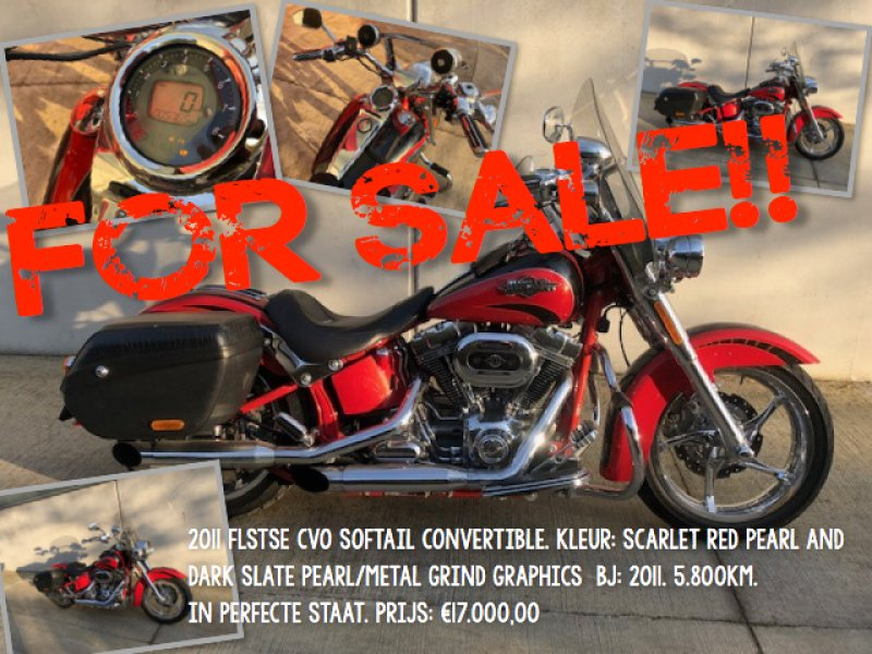 FLSTSE CVO Softail Convertible